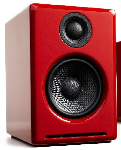 audioengine a2 red