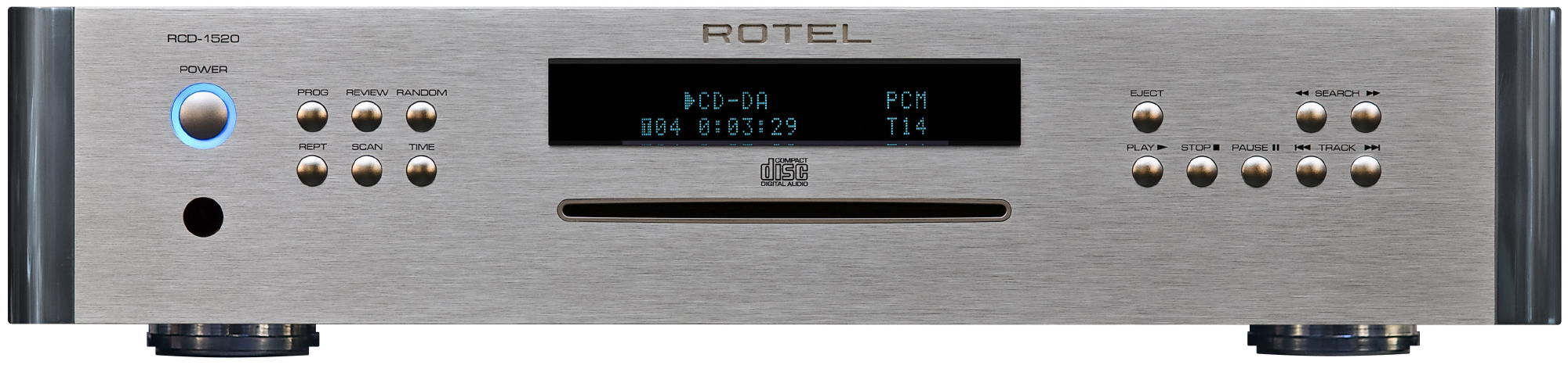 rotel RCD1520 Silver