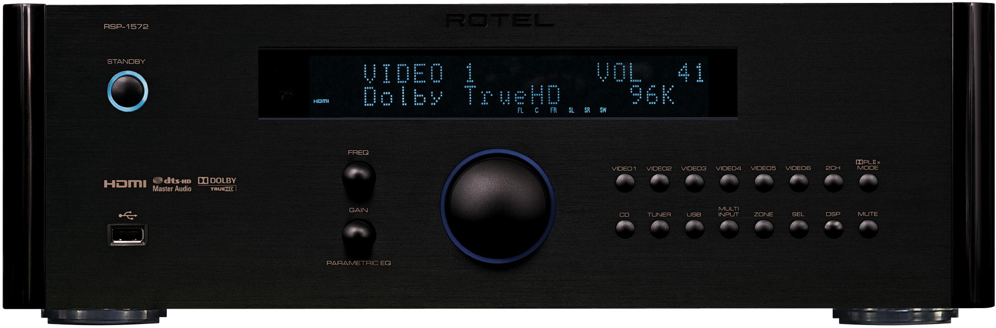 rotel RSP1572 Front